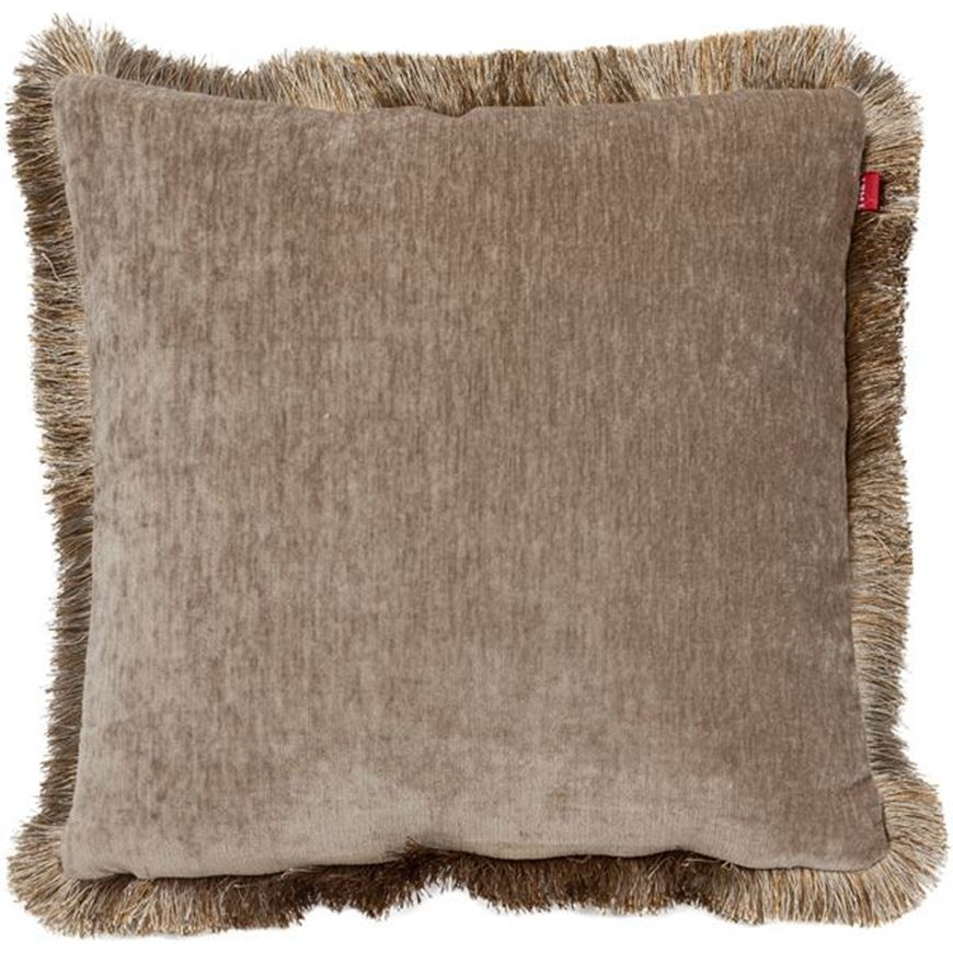 Picture of AUDREA cushion cover 45x45 brown