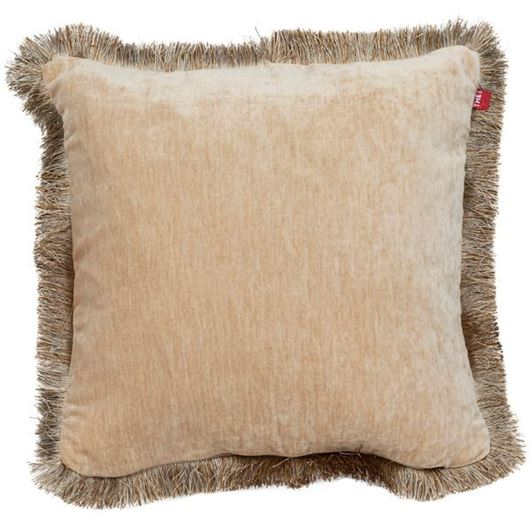 Picture of AUDREA cushion cover 45x45 beige