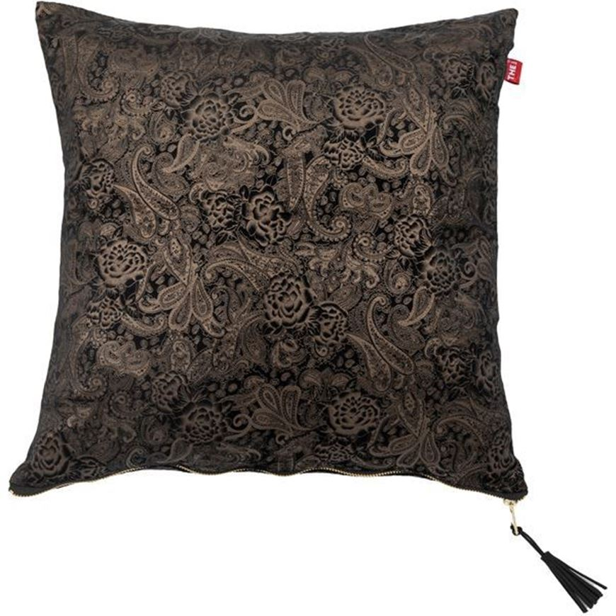 Picture of ROCCO cushion cover 45x45 brown/black