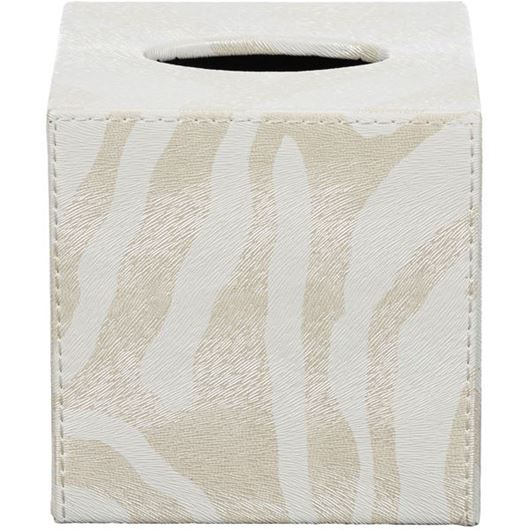 Picture of ZERA tissue box 13x14 white