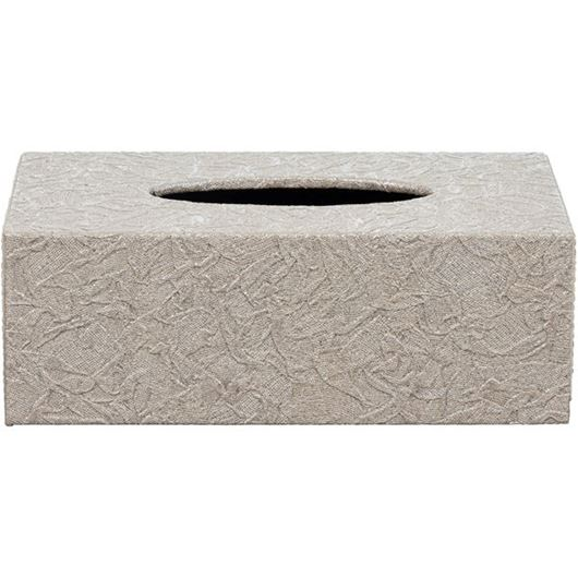 Picture of ATLANTIS tissue box 14x25 beige