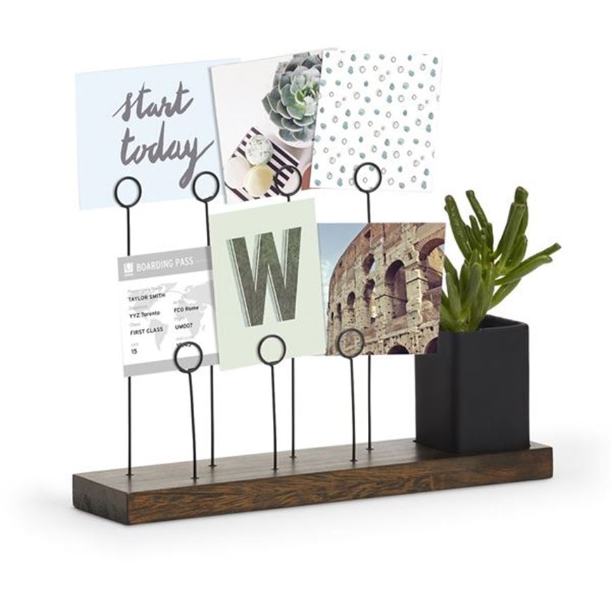 Picture of GALA photo holder brown/black