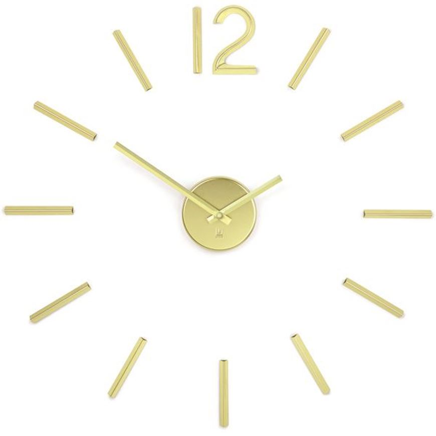 Picture of BLINK clock d100cm brass
