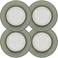 TIFFANY soup plate d24cm set of 4 blue/gold
