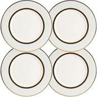 ASHBURY dessert plate d21cm set of 4 blue/gold