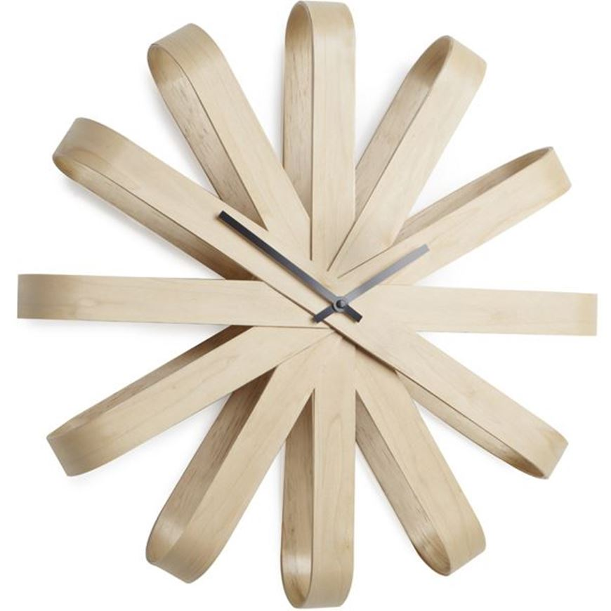 Picture of RIBBONWOOD clock d51cm natural