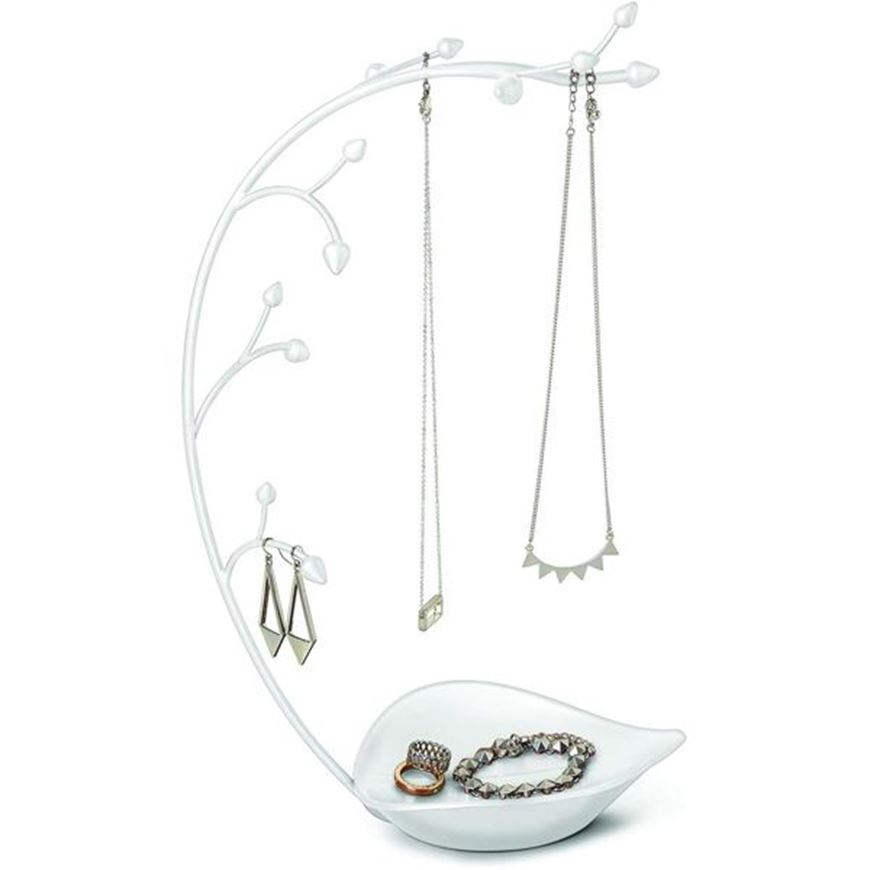 Picture of ORCHID jewellery stand white