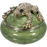 NULA trinket box d6cm green