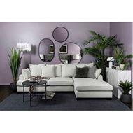 PORTO sofa 2.5 + chaise lounge Right natural