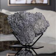 ORE decoration h26cm silver