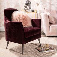 DIONE armchair purple