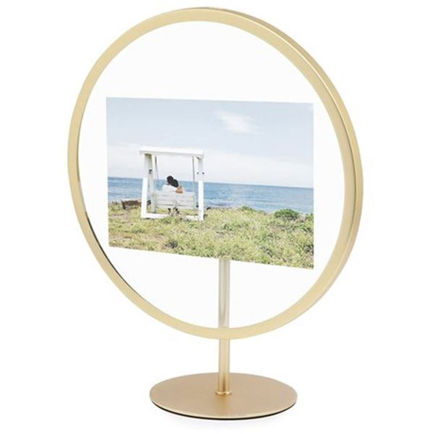 Picture of INFINITY photo frame 10x15 brass