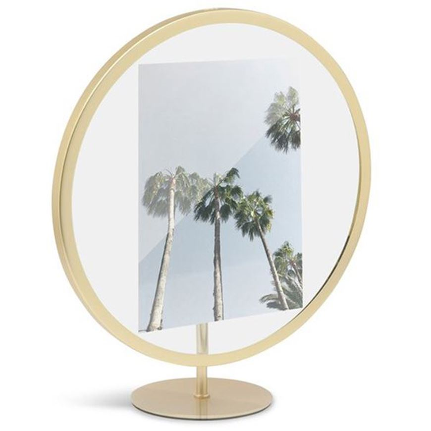 Picture of INFINITY photo frame 13x18 brass