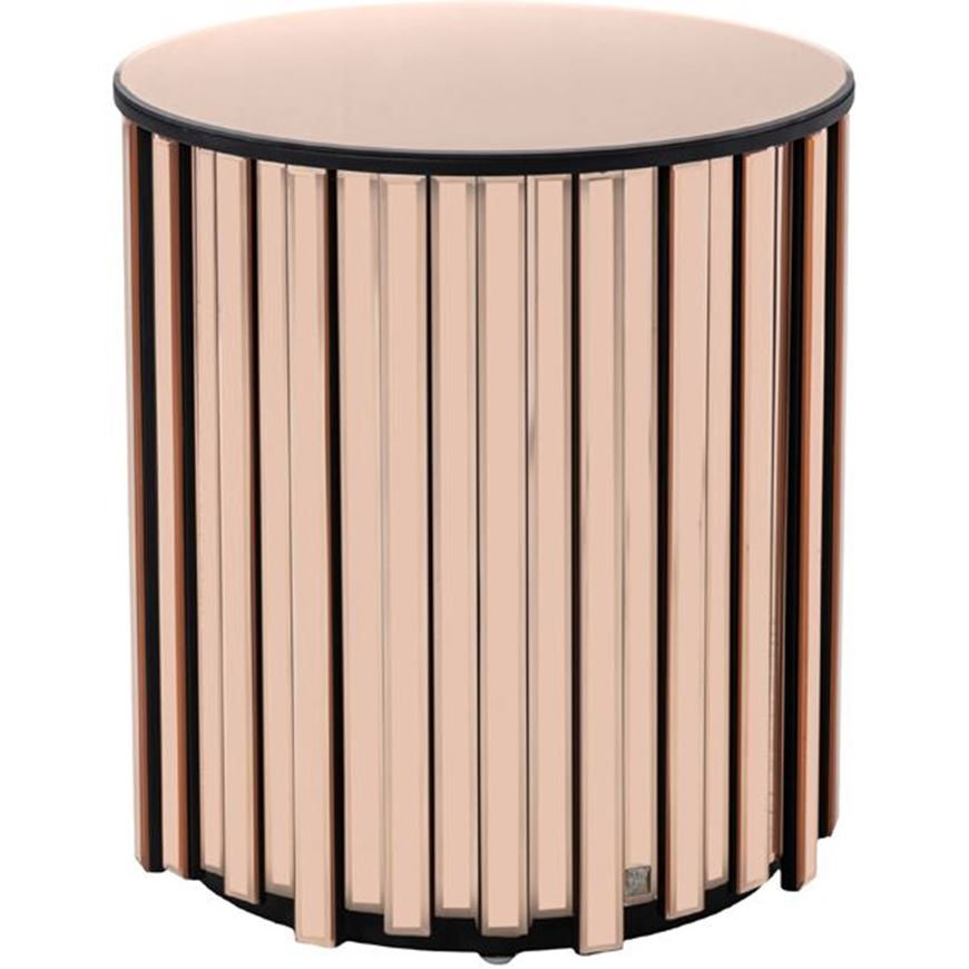 Picture of RIDER side table d45cm pink