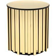 RIDER side table d45cm gold