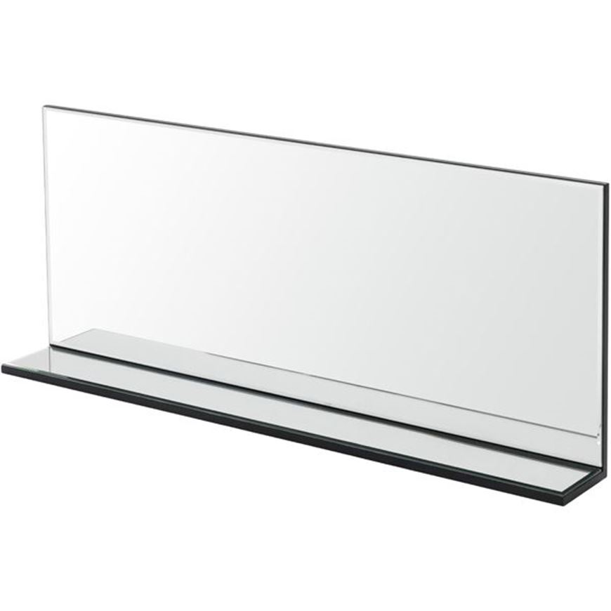 Picture of L SHAPE mirror 100x40 clear