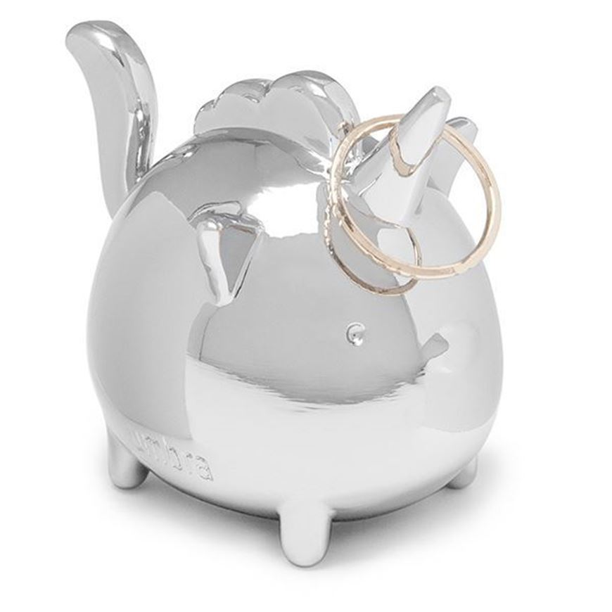 SQUIGGY unicorn ring holder stainless steel