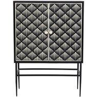 RAIN cabinet 140x100 black