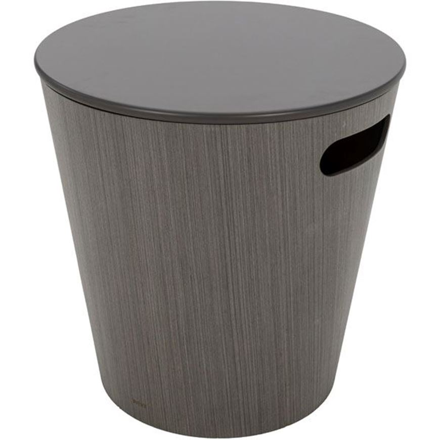 Picture of WOODROW stool d41cm grey