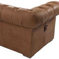 GAINSBOROUGH sofa 3.5 leather brown