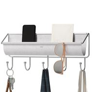 HAMMOCK 5 hook organiser grey