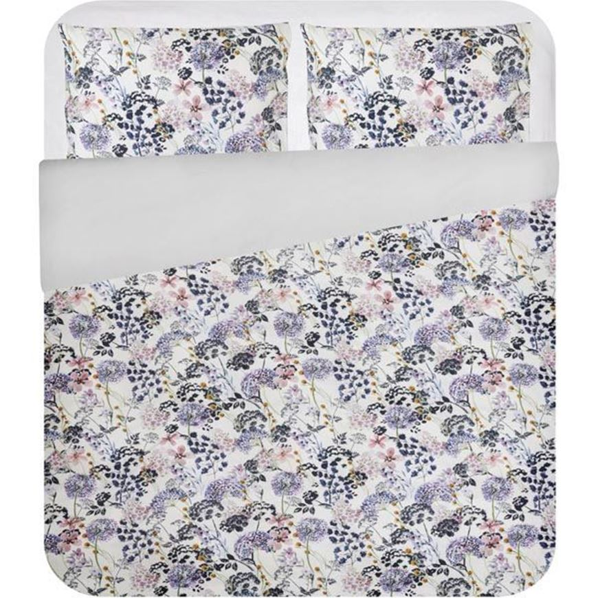 ALISON duvet cover set of 3 pink