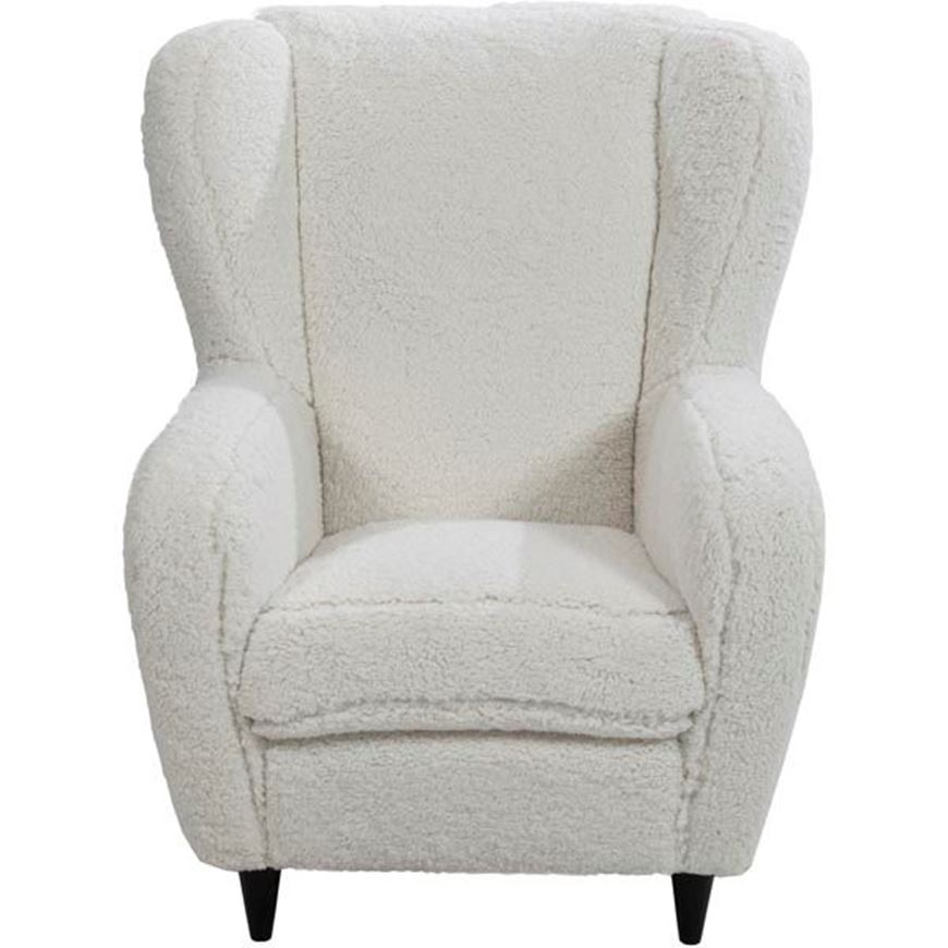 SNOW wing chair white