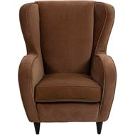 GAUDI wing chair light brown
