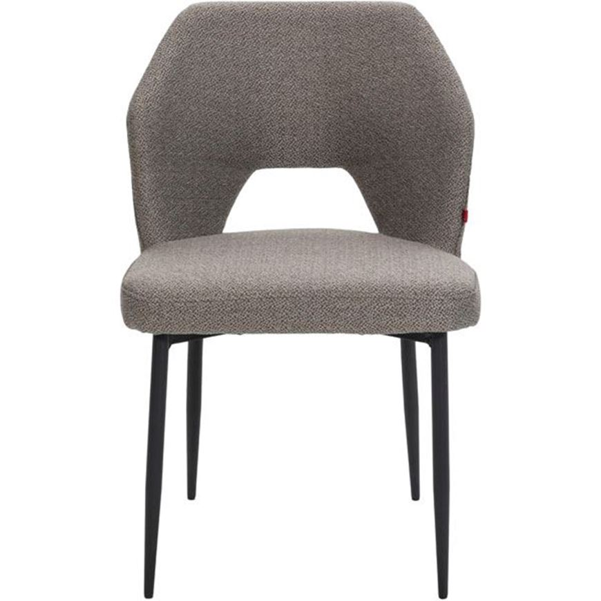HOLD dining chair taupe/black