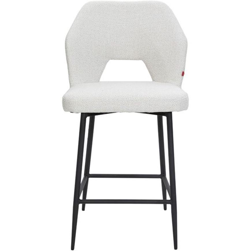 HOLD counter chair white/black