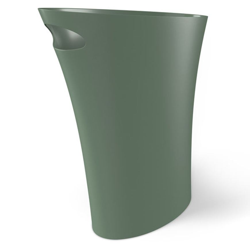 Picture of SKINNY waste can green