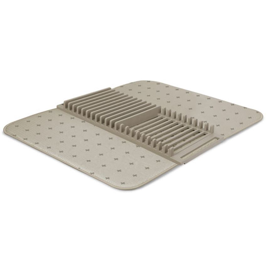 Picture of UDRY dish rack & drying mat beige