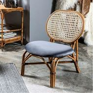 RATTAN armchair natural