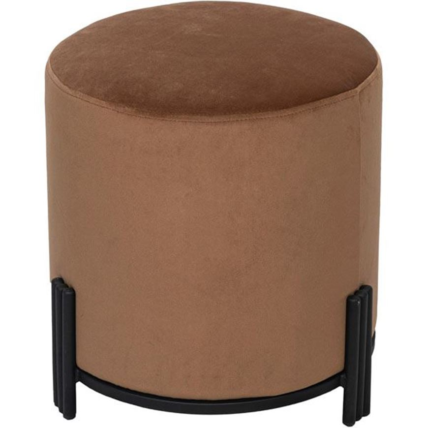 TRIGAS stool d42cm light brown