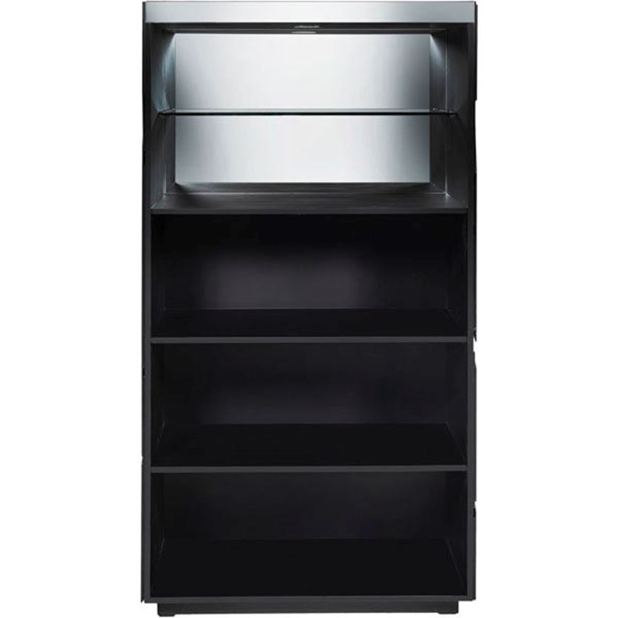 THEKING display unit 170x90 grey/black