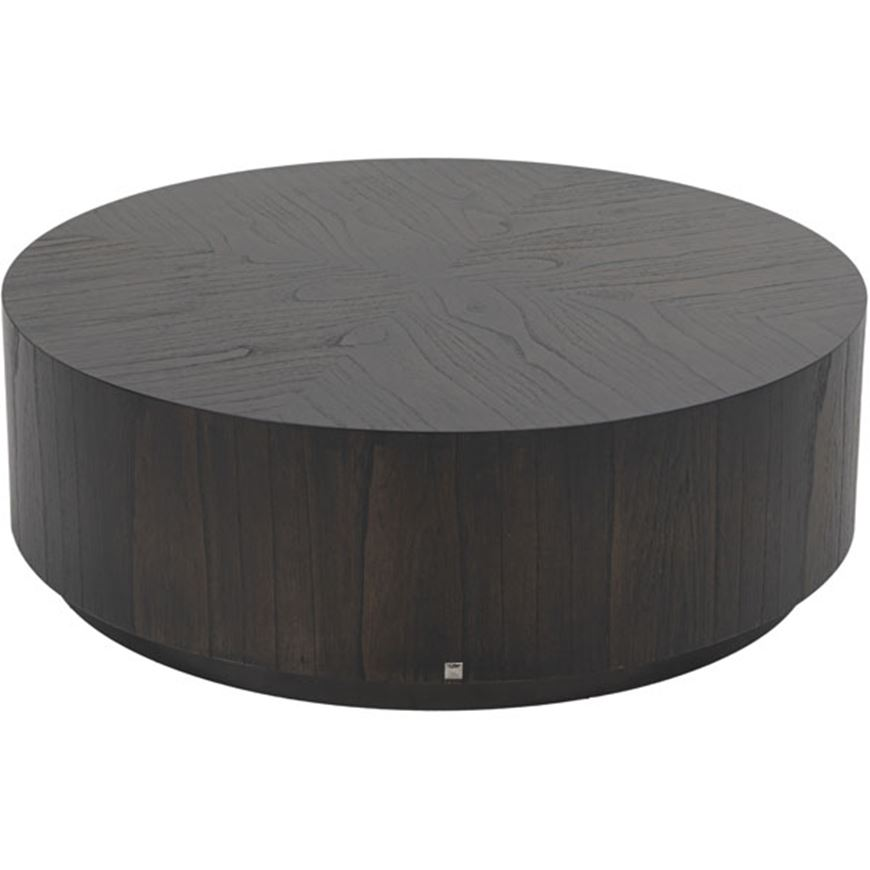 Picture of KYOTO coffee table d90cm grey brown