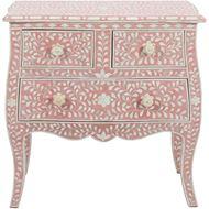 TAAHIRA chest 3 drawers pink