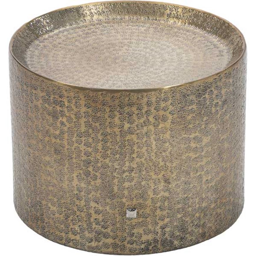 Picture of MASON side table d40cm brass