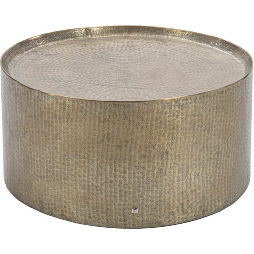 Picture of MASON coffee table d80cm brass