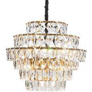 PRINCESS 13 chandelier d80cm clear/brass