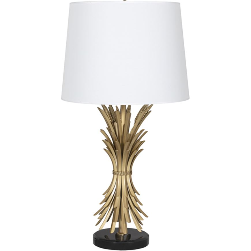Picture of MAZE table lamp h85cm white/brass
