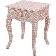 TAAHIRA bedside table pink