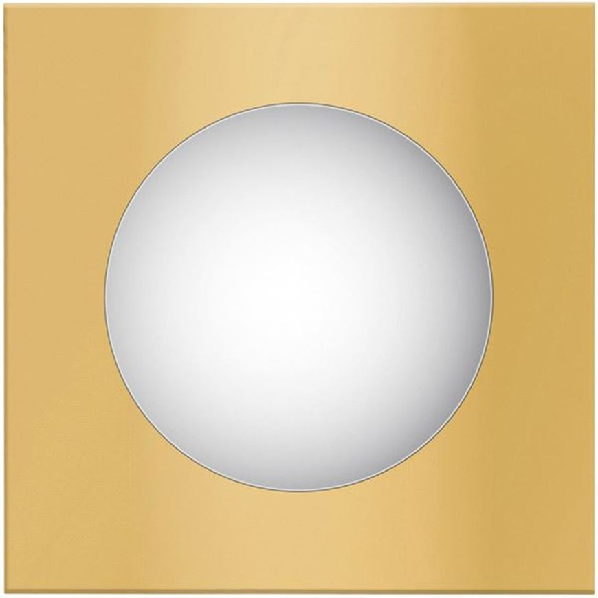 FARAH mirror 58x58 gold