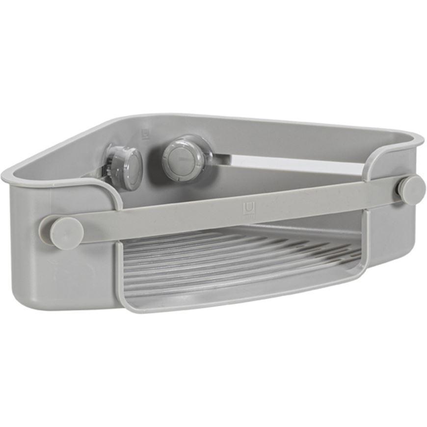 Picture of FLEX gel lock corner bin grey