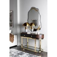 MONROE table lamp h47cm brass/grey