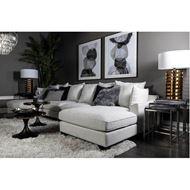 PORTO sofa U chaise natural