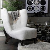 POLAR wing chair white