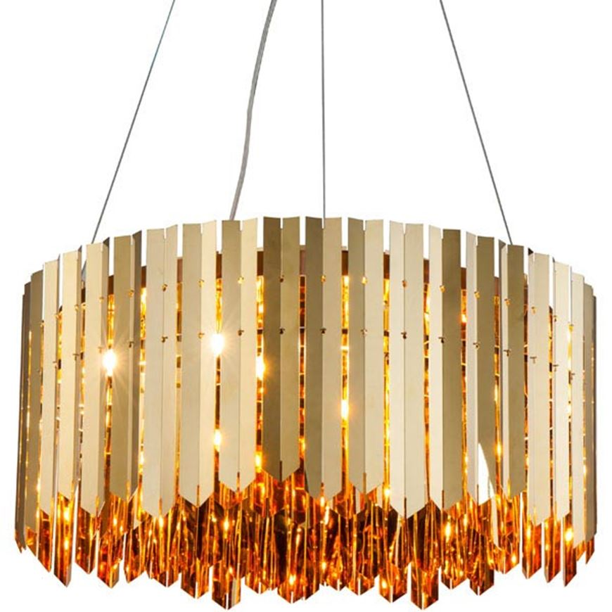 Picture of ADD 60 chandelier d60cm gold