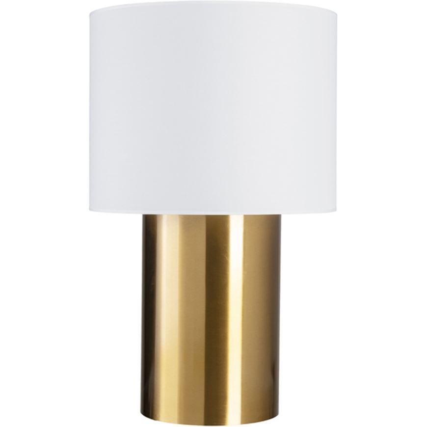 Picture of CHIMNEY table lamp h80cm white/brass