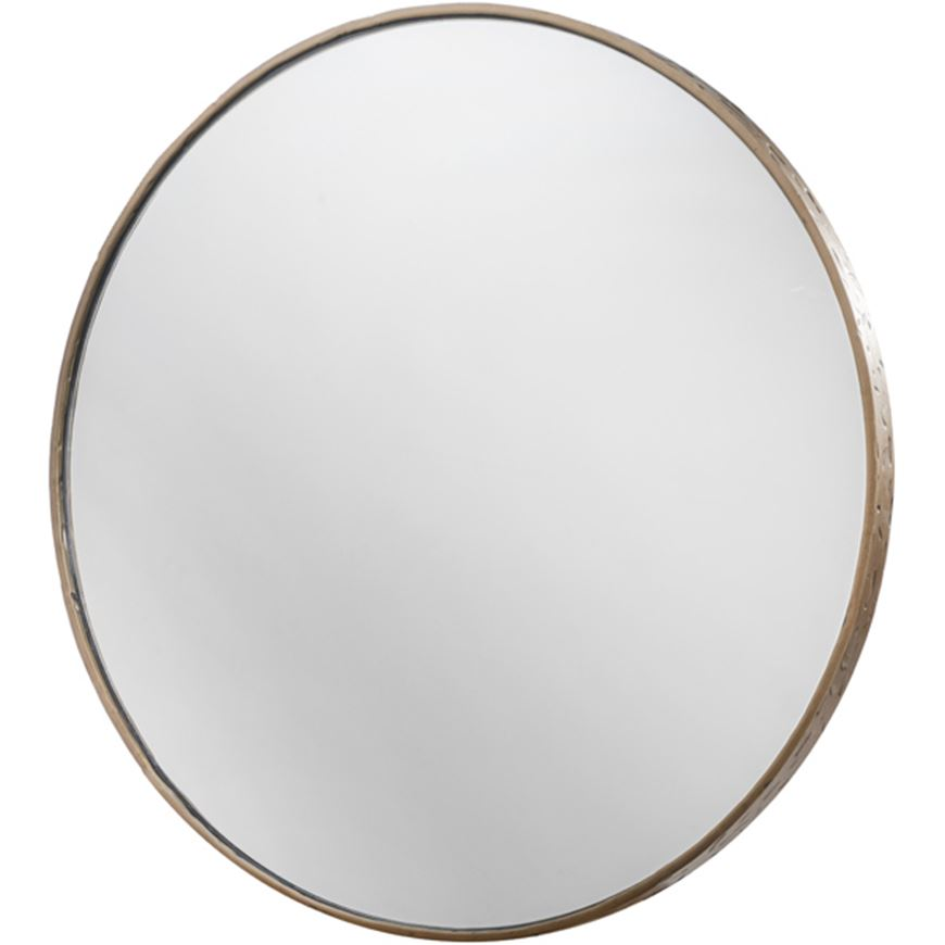 Picture of JAX mirror d80cm brass